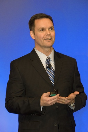 Dr. Jeff Brown Speaking presentation photo